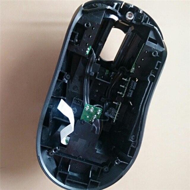 Carcasa de ratón con cable de repuesto para Logitech G403, cubierta superior de ratón con cable, piezas de reparación para Logitech G403, accesorios