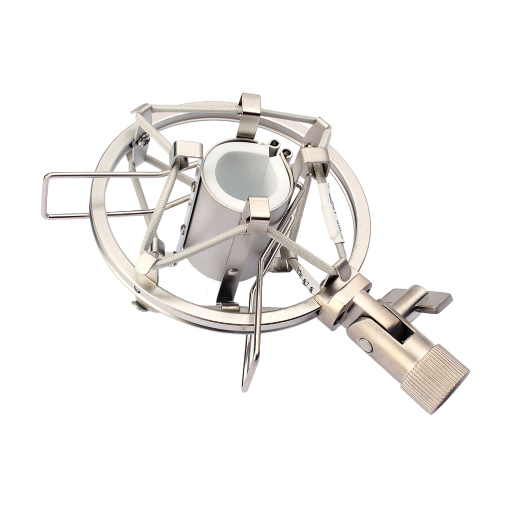 Soporte Universal soporta carga de micrófono, micrófono con Clip de montaje, soporte para estudio de Radio, soporte de grabación de sonido profesional
