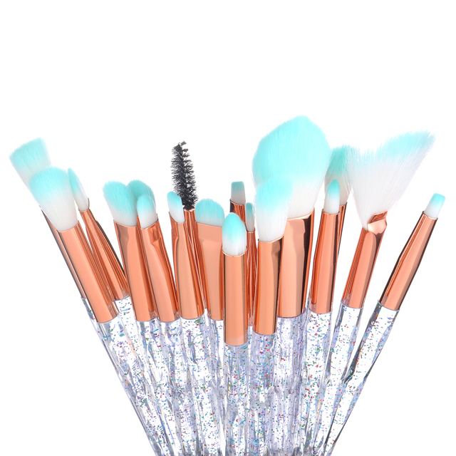 FLD 20Pcs Professional Eyelash Makeup Brushes Set Eye Shadow Brush Eyebrow Brush Foundation Mascara Brushes Cosmetic Tools Kits 5