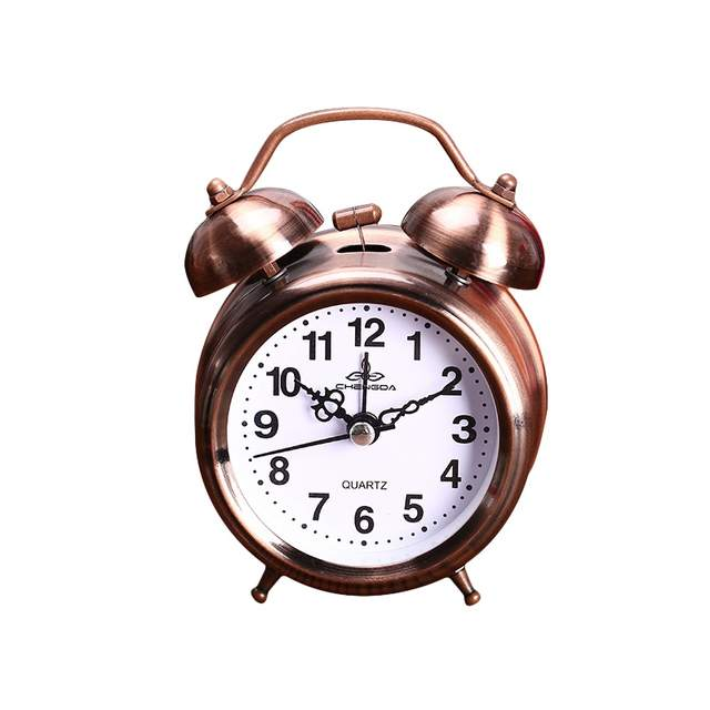 Alarm Clock Vintage Retro Silent