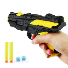 Вода мягкая двойного использования пистолет пули детская игрушка ручной Ева Кристалл пистолет модель