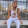 קיץ מקרית סגנון לבן סרוג צמרות נשים קיץ 2020 streetwear אפוד פשוט הדפסת יבול חולצות בסיסי tees mujer 1