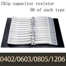 0603 1% 0r ohm hm 10m yageo smd resistor amostra livro tolerância 170valuesx50pces = 8500 pces