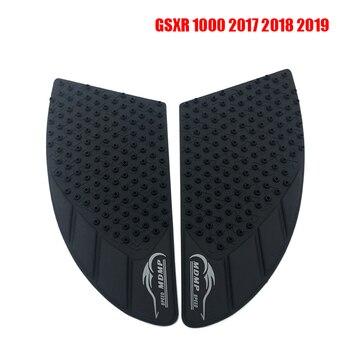GSXR1000 motocykl antypoślizgowe naklejki na zbiornik Pad 3M boczna podkładka na pedał gazu uchwyt poduszki trakcyjne naklejka ochronna dla Suzuki GSXR 1000 GSXR1000 2017