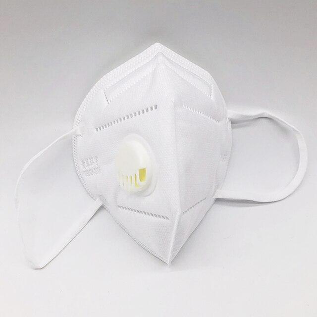 [20pcs] KN95 Anti Virus Mouth Mask Respirator Protection Flu Facial Gas Antivirus Face Masks Fpp1 Fpp3 Ffp2 Ffp3 N95 Kf94 N 95 1