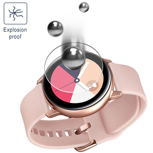 Image 5 - 3 stück Weiche Hydrogel Film für Samsung Galaxy Uhr Aktive 1 2 40m 44mm Schutz Film Uhr Screen protector auf Aktive 2 1