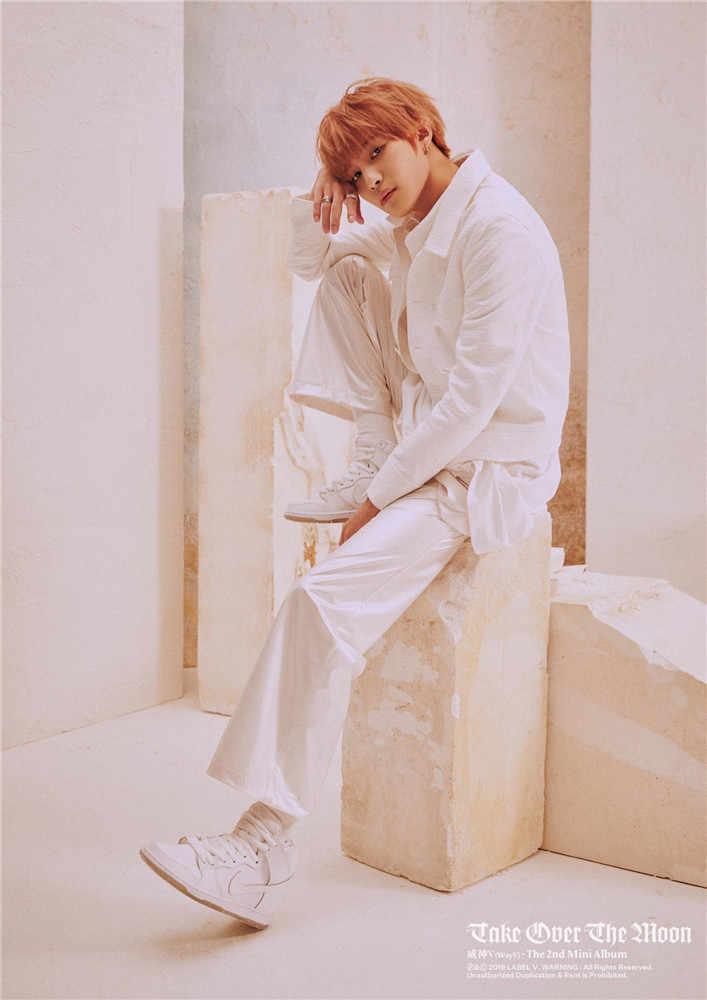 NCT Cara V 10 Winwin Lucas Kualitas Tinggi Poster Take Off Putih Dilapisi Kertas Dekorasi Dinding Ruang Tamu Kamar Tidur Rumah Dinding stiker