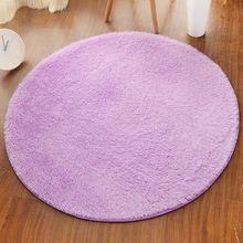Carpets Area Rug Floor-Mat Round-Rug Room-Short Bedroom Non-Slip Living-Room Kids Shaggy