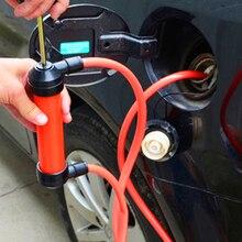 Ręczna pompa olejowa do pompowania oleju gazowego syfon SuckerTransfer ręczna pompa do oleju płynna woda chemiczna pompa transferowa samochód stylizacji