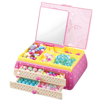 Toys Small Flower Fairy Flowers Sunrex Jewlery Box Children DIY Crystal Candy Hand-woven Beaded Bracelet