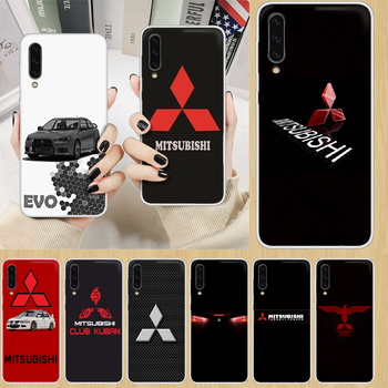 Car brand Mitsubishi EVO Phone Case hull For SamSung Galaxy note A 5 7 8 9 20 30 40 50 51 60 70 71 80 2017 18 E transparent image