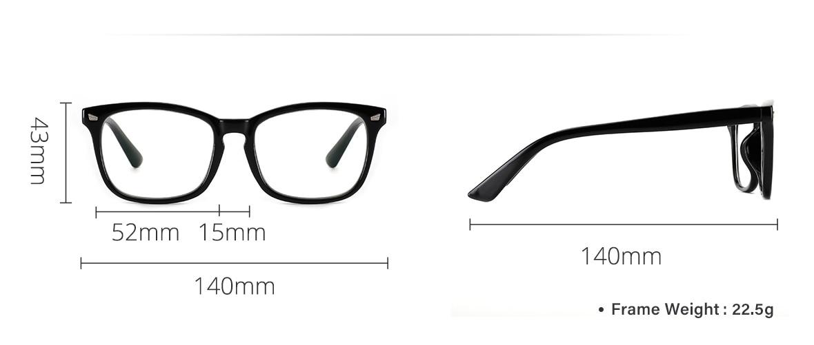 Accessories - Cyxus Blue Light Blocking Computer Glasses Anti UV Fatigue Headache Eyeglasses Clear Lens Gaming Eyewear for Men and Women