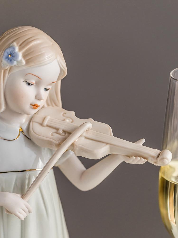 porcelana escultura artesanal arte collectibles cerâmica estatueta