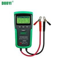 DUOYI DY2015 12V автомобильный тестер для системы аккумуляторов максимальная емкость электронная нагрузка тест заряда батареи + руководство на ан...