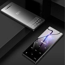 מקורי RUIZU D29 Bluetooth MP3 נגן Lossless HiFi מוסיקה נגן נייד אודיו רמקול מובנה FM רדיו ספר אלקטרוני שעון