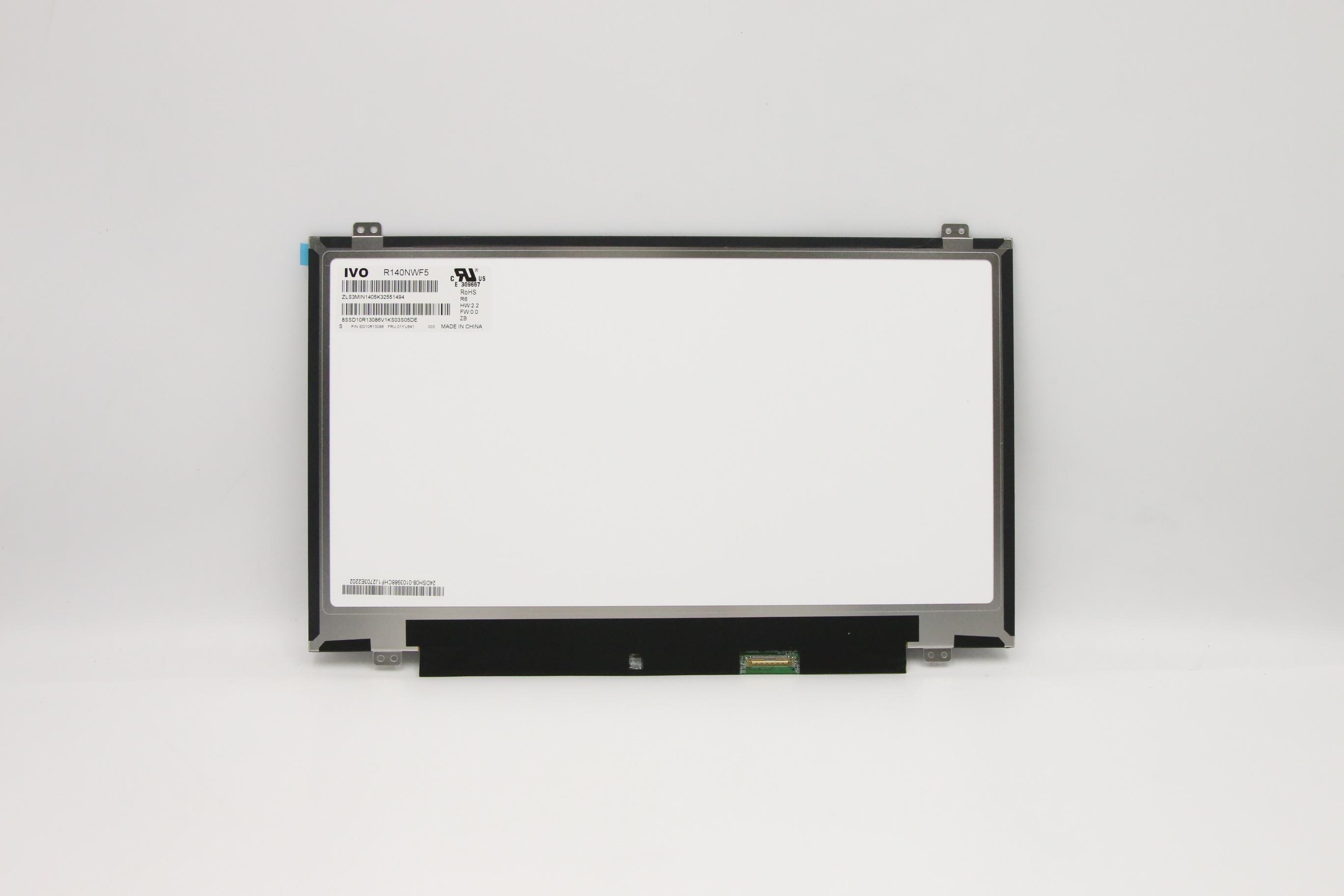 """14"""" inch screen is suitable for Lenovo thinpkda A485 (Type 20MU, 20MV) Laptop FRU: 01YU641 100% packaged and tested 2"""