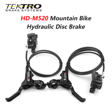 Bicycle Rotor Brakes Hydraulic-Disc-Brake TEKTRO 180/203mm Mountain-Bike Aluminum-Alloy