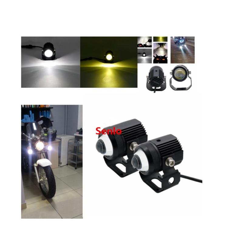 20/W BA20D 4/CREE LED Moto Hi//Lo Faro Bombilla Deutsche Post