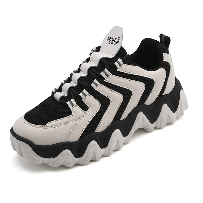 Big Wave MEN'S SHOES Old Man Shoes New Style Extra High Grained Casual Sports Shoes Ulzzgangs Skateboardings Shoes Mens