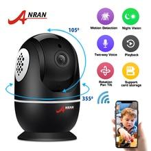 ANRAN 1080P Wifi מצלמה בית מעקב וידאו מצלמה CCTV ראיית לילה אבטחת מצלמה דו כיוונית אודיו תינוק צג 1920*1080