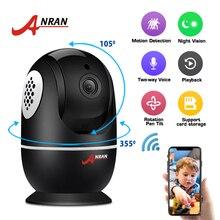 ANRAN 1080P kamera Wifi wideo z domu kamera monitorująca CCTV Night Vision kamera ochrony dwukierunkowe Audio niania elektroniczna Baby Monitor 1920*1080