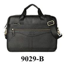 Мужские сумки из натуральной кожи, сумки через плечо, портфель из воловьей кожи, мужские высококачественные роскошные деловые сумки-мессенджеры для ноутбука