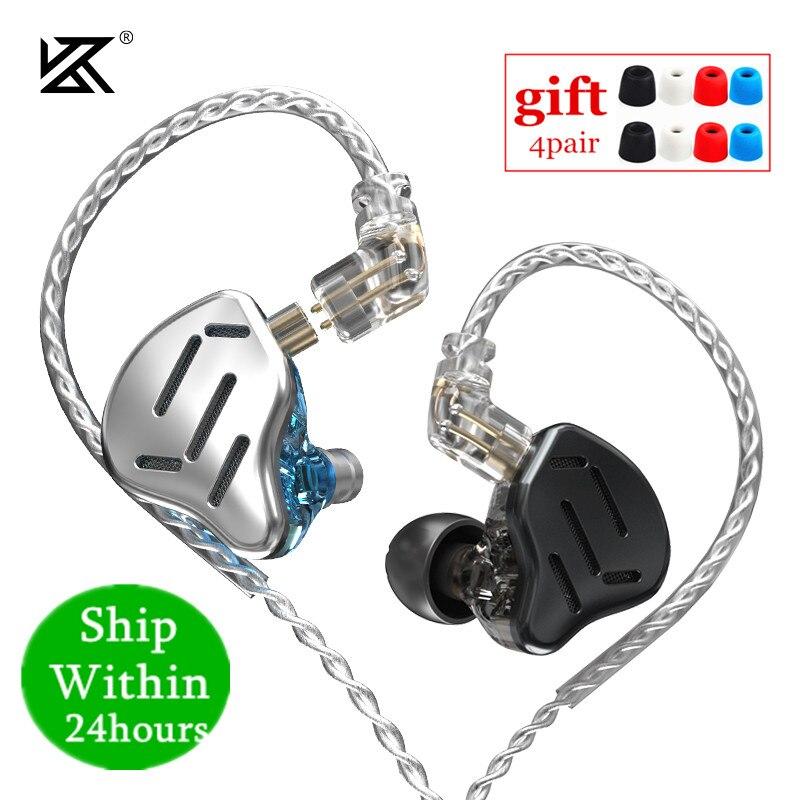 Kz zax 7BA 1DD 16ユニットハイブリッドin 耳イヤホン金属ハイファイヘッドセット音楽スポーツkz zsx ZS10プロAS12 AS16 CA16 C10プロvx BA8 DM7|電話用イヤホン & ヘッドホン| - AliExpress