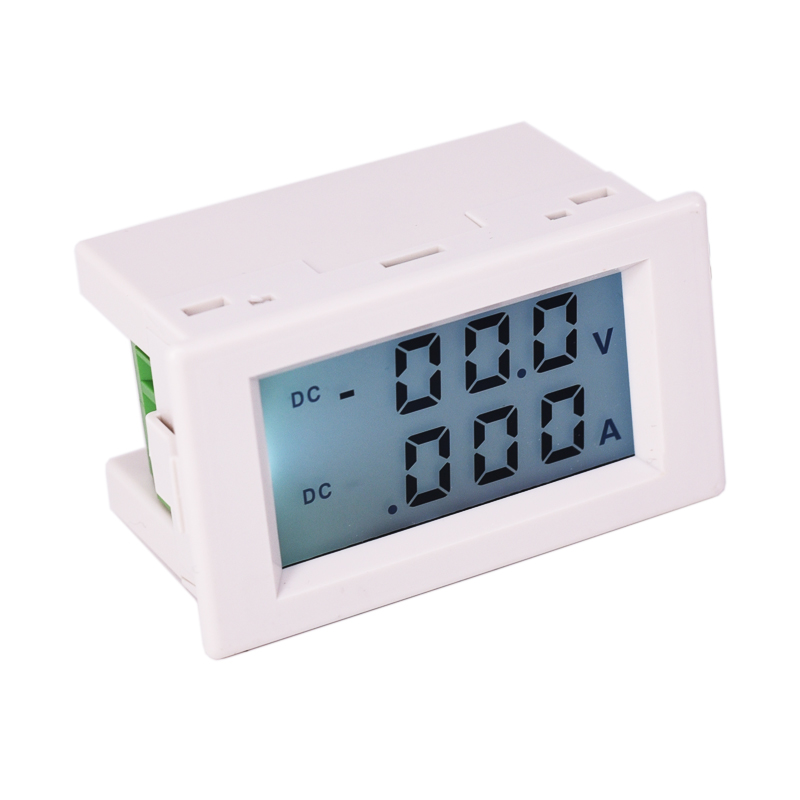 Positive And Negative Voltage Ammeter LCD Digital Display Charge And Discharge Two-way Measurement Multimeter AC220V Supply