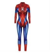 2019 New Captain Women Cosplay Costumes Jumpsuit Catsuit  Halloween Fancy Ball Dress