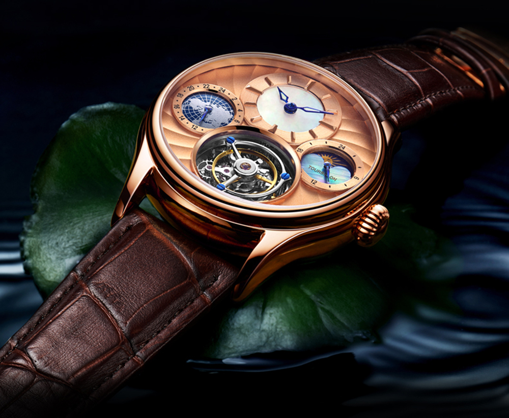 Original Tourbillon watch GUANQIN 2019 NEW clock men waterproof mechanical Sapphire leather top brand luxury Relogio Masculino 14