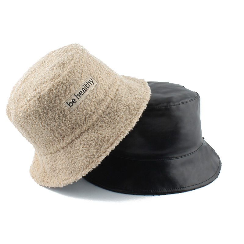 Двусторонняя Панама из искусственного меха теплые зимние шапки