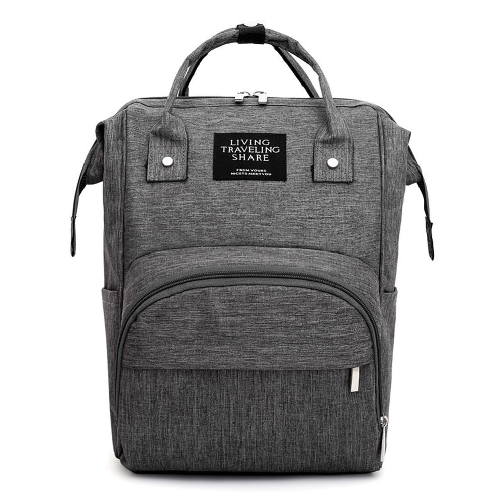 Mommy Travel Backpacks Large Capacity Oxford Cloth Maternity Nappy Top-handle Bag Baby Care Nursing Diaper Bags Bolsas Mochila