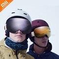 Xiaomi TS двойные сферические взрослые лыжные очки высокой четкости видения анти-УФ туман Защита Ветер ударопрочность лыжные зеркальные очки