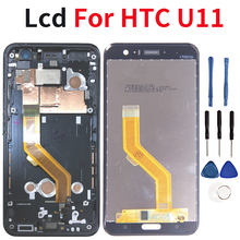Quality 5.5Lcd For HTC U11 LCD Touch Screen Glass U 3w U 1w U 3u Digitizer Display For HTC U11 LCD Touch Screen Replacement