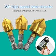 цена на Countersink Drill Woodworking Core Bit Wood Chamfering Cutter Chamfer 3 Size Countersink Drill Bit Woodworking Power Set h2