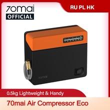 70mai Auto Luchtcompressor Eco 70mai Portable Elektrische Auto Luchtpomp Mini Compressor Tire Inflator Auto Tyre Pumb 12V data