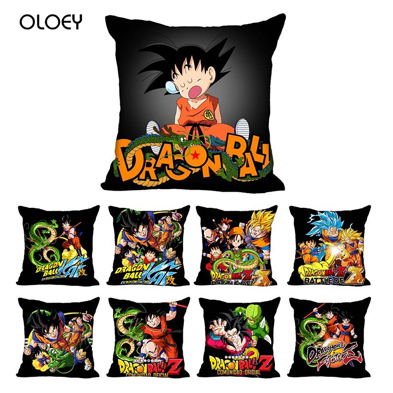 Customized Dragon Ball Cushion Cover, Customized Zipper Pillowcase, Children's Room Decoration Cushion Cover 45x45cm (one Side).