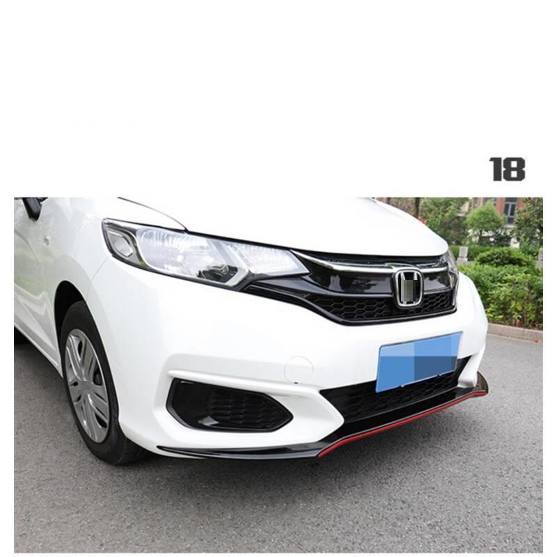 Sticker Coche Stijl Molding Accessoires Bumper Protector Parachoques Auto Modificatie Styling Mouldings 18 Voor Honda Fit - 6