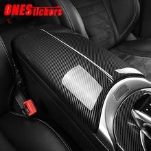 Auto Center Konsole Verstauen Aufräumen Armlehne Box Panel Trim Abdeckung Für Mercedes Benz E Klasse W213 E200 E300 C Klasse w205 GLC X253