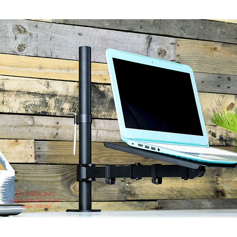 DL-MD10LP Laptop Desktop Stand Computer Tray Monitor Holder 10