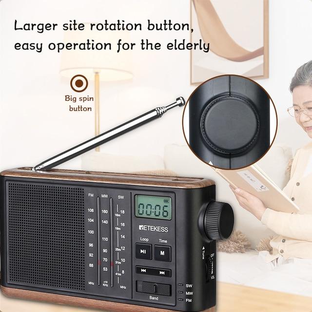 Радиоприемник RETEKESS TR613 FM/AM/SW TF-Card