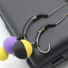 10PCS Carp Fishing Accessories Anti Tangle Sleeves Line Aligner D rig Aligner Kickers for Carp Rig Hair Rig Tackle Equipment