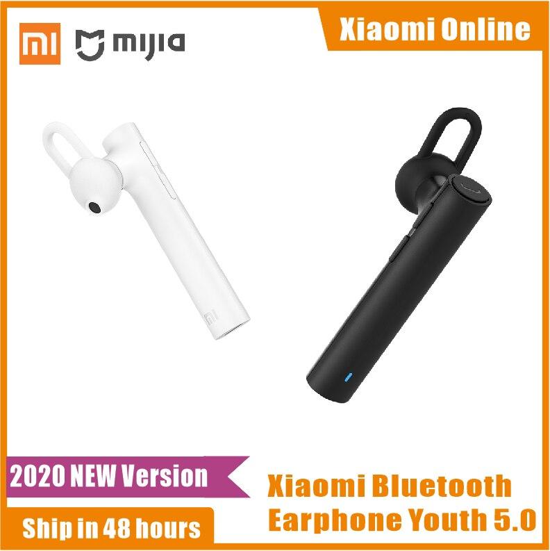 Bluetooth-гарнитура Xiaomi Youth 2020 версия Беспроводная Bluetooth 5,0 портативная Спортивная Высококачественная гарнитура с микрофоном Новинка 5,0