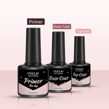 Top-Coat Base Nail-Art Polish Primer Varnish UV Led-Gel No-Wipe Soak-Off