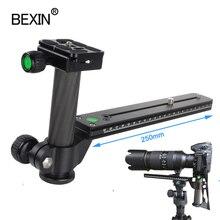 Kamera release stativ platte teleobjektiv unterstützung quick release platte für dslr kamera mit arca swiss platte carbon faser säule