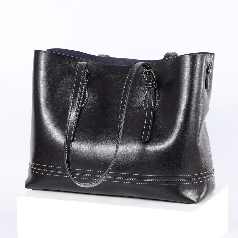 Luxury Soft Leather Handbag Vintage Women Tote Bags Designer High Quality Shoulder Crossbody Bags For Women Messenger Bag  C1257