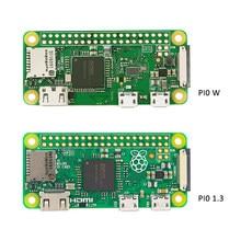 Raspberry Pi Zero V/Raspberry Pi Zero W kit Original + carcasa de acrílico + disipador de calor de aluminio para carcasa de caja RPI Zero