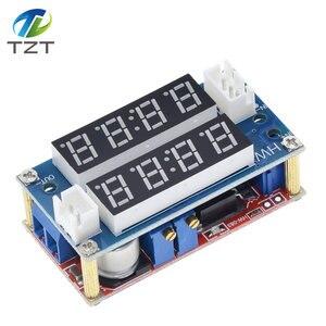 Image 5 - TZT XL4015 5A מתכוונן כוח CC/קורות חיים צעד למטה הטעינה מודול LED Driver מד מתח מד זרם קבוע זרם קבוע מתח