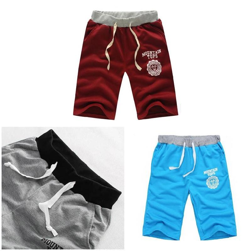 Men Shorts Pant Half Summer Beach Printing Breathable Cotton Fashion Casual For Outdoor EIG88