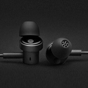 Image 4 - Xiaomi سماعات أذن مزدوجة ديناميكية ، ستيريو ، 3.5 مللي متر ، لهاتف iPhone X XS 7 8 Samsung S8 S9 S10 Xiaomi 9